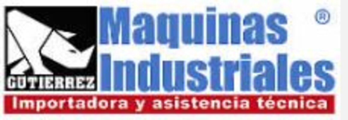 MÁQUINAS INDUSTRIALES GUTIÉRREZ | CONSTRUEX