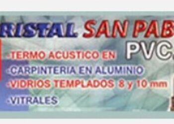Vidrios laminados - CRISTAL SAN PABLO SRL.