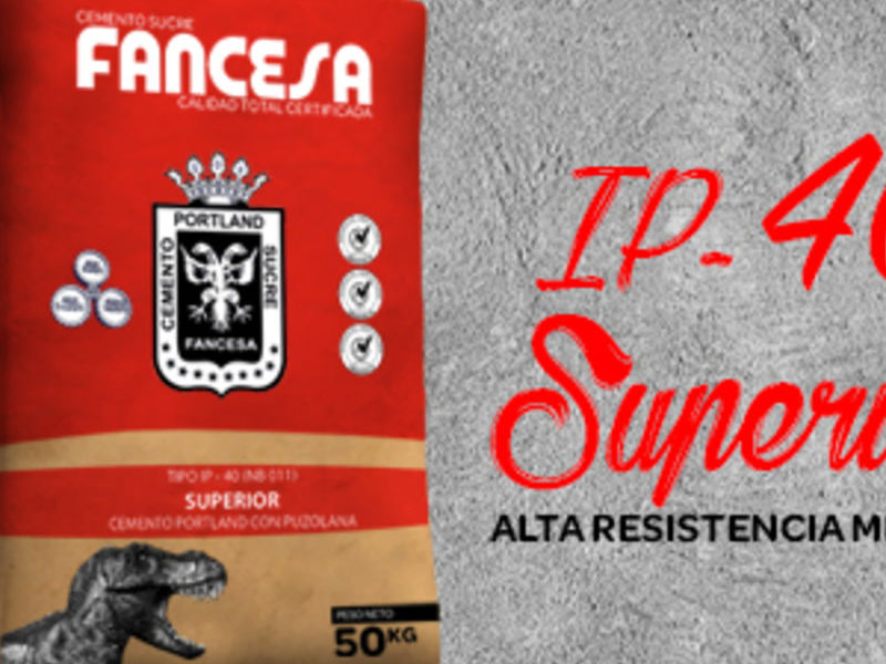 Cemento Fancesa IP 40 Superior