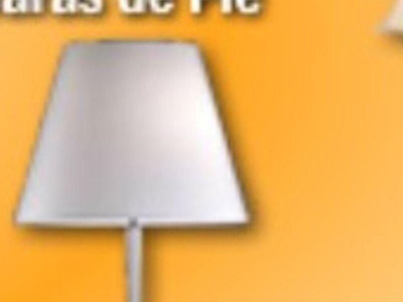 Lámparas de pié