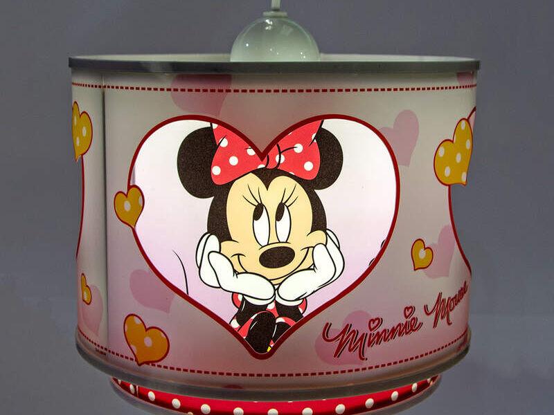Lámpara de techo Kids Minnie Mouse Disney