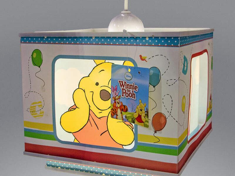Lámpara de techo Kids Winnie the pooh Disney