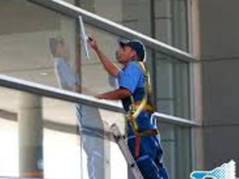 Lavado de vidrios exterior