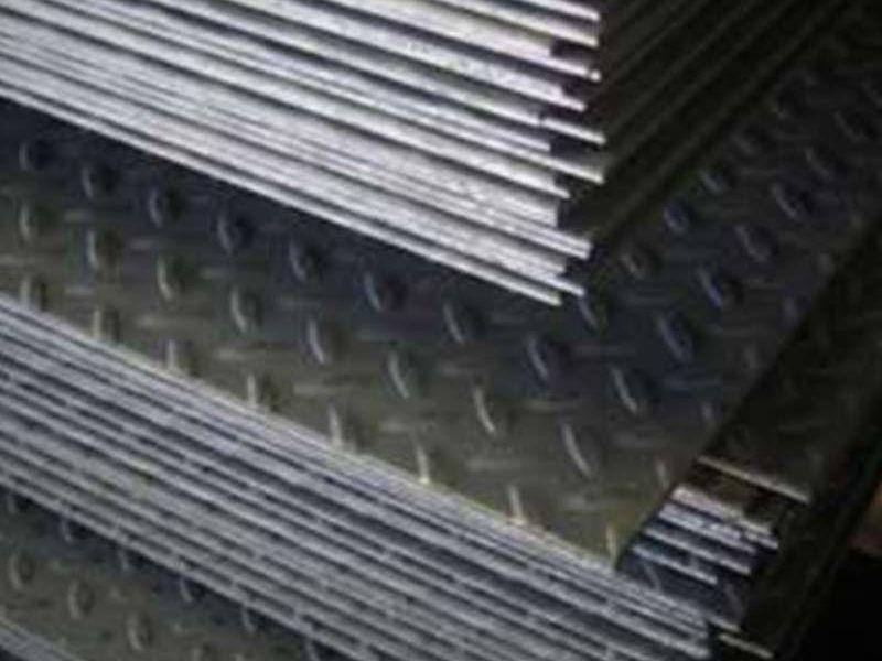 Planchas de Acero Antideslizante - ACERO LAS LOMAS  | CONSTRUEX
